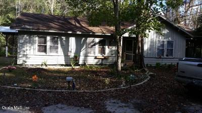 Ocklawaha Single Family Home Pending: 12163 SE 135th Avenue