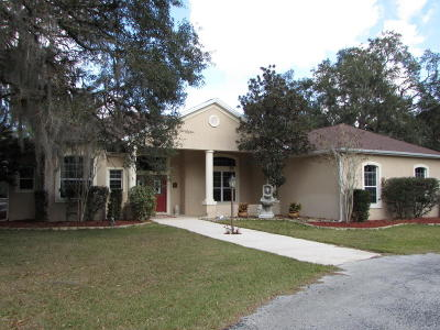Lady Lake Single Family Home For Sale: 535 Griffin View Drive