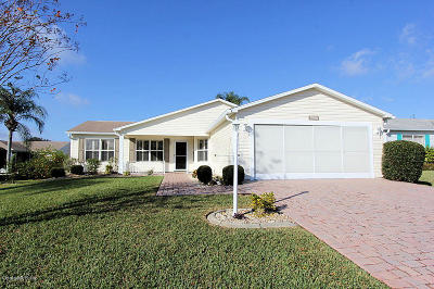 The Villages Single Family Home For Sale: 1806 Naples Place
