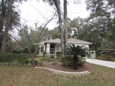 Dunnellon Single Family Home For Sale: 18973 SW 93rd Loop Loop