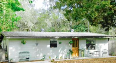 Reddick Single Family Home For Sale: 19275 NW 54th Court