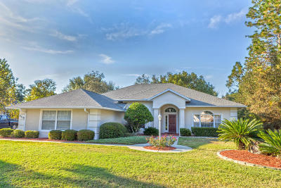 Dunnellon Single Family Home For Sale: 9718 SW 195th Circle
