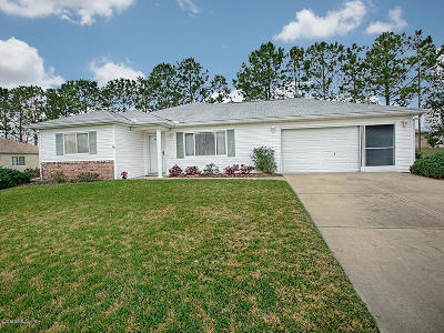 Summerfield Single Family Home For Sale: 13840 SE 86th Terrace