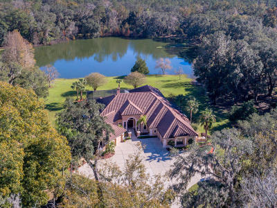 Ocala FL Single Family Home For Sale: $1,499,900