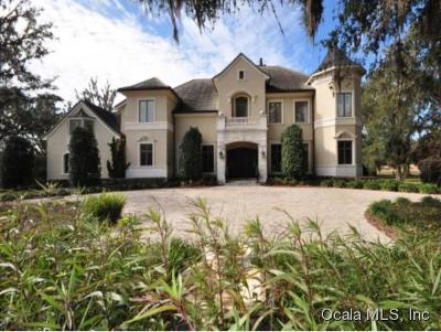 Ocala FL Single Family Home For Sale: $2,595,000