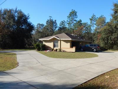 Hernando Single Family Home For Sale: 2886 N Tyrone Avenue