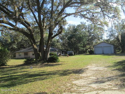 Marion County Single Family Home For Sale: 13874 NE 46th Street