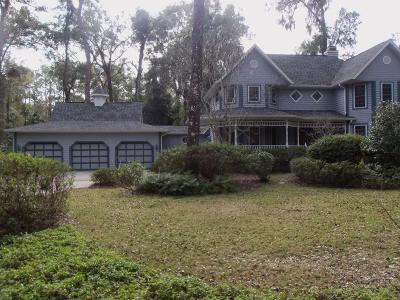 Dunnellon Single Family Home For Sale: 7883 SW 186 Circle