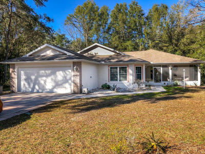 Dunnellon Single Family Home For Sale: 19021 SW 101st Place