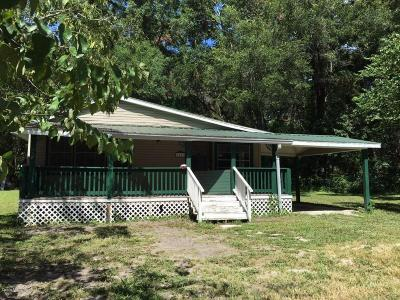Levy County Single Family Home For Sale: 7697 NE Highway 41