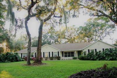 Ocala Single Family Home For Sale: 3626 SW 51st Terrace