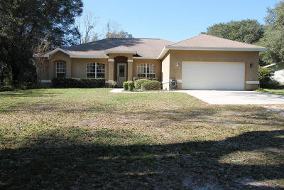 Weirsdale Single Family Home For Sale: 13035 SE Highway 42