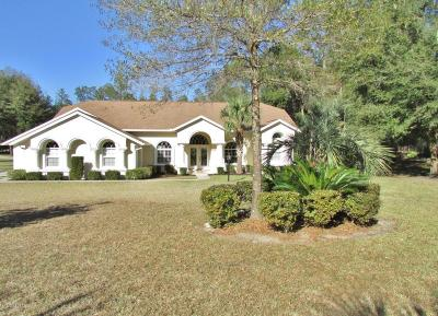 Dunnellon Single Family Home For Sale: 9701 SW 209 Court