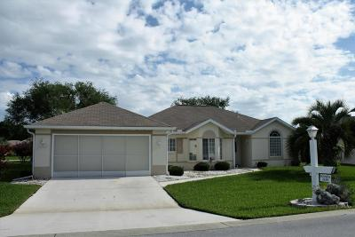 Ocala Palms Single Family Home For Sale: 5519 NW 25th Loop