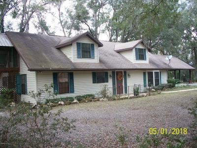 Ocala Single Family Home For Sale: 12705 SW 45th Lane Road