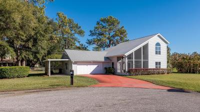 Dunnellon Single Family Home For Sale: 11753 Egret Court