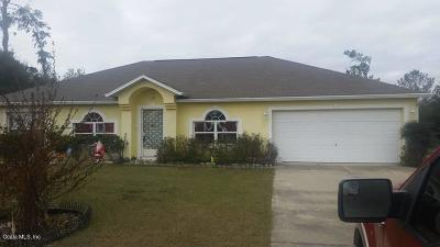 Ocala Single Family Home For Sale: 9940 SW 41st Avenue