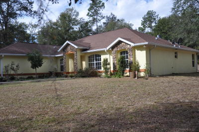 Dunnellon Single Family Home For Sale: 10100 SW 206 Court