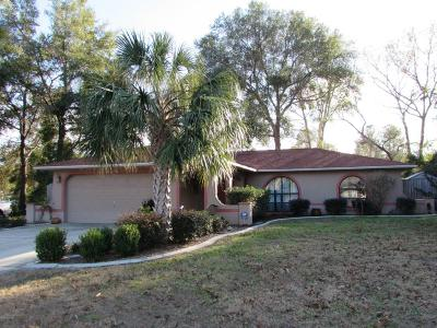 Citrus Springs Single Family Home For Sale: 2276 W Winter Place
