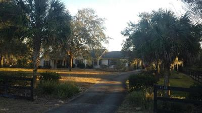 Ocala Single Family Home For Sale: 4988 SW 31st Street
