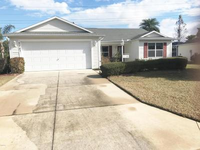 The Villages Single Family Home For Sale: 9267 SE 179th Wesley Street