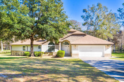 Dunnellon Single Family Home For Sale: 18551 SW 108th Place