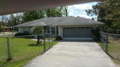 Summerfield Single Family Home Pending: 8974 SE 158th Place