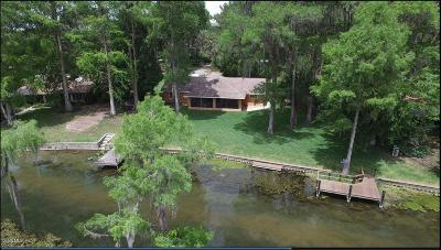 Dunnellon Single Family Home For Sale: 12139 Palmetto Way