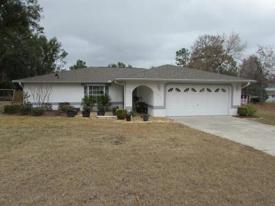 Citrus Springs Single Family Home For Sale: 7930 N Sarazen Drive