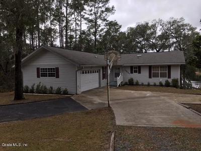 Ocklawaha Single Family Home For Sale: 17011 SE 56th Street