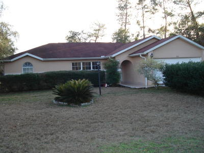 Ocala Single Family Home For Sale: 2810 SW 146th Street