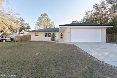 Dunnellon Single Family Home For Sale: 20190 SW 84th Lane