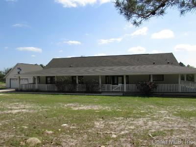 Dunnellon Single Family Home For Sale: 13051 SE 137 Court