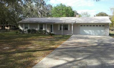 Summerfield Single Family Home For Sale: 2645 SE 162nd Place Road