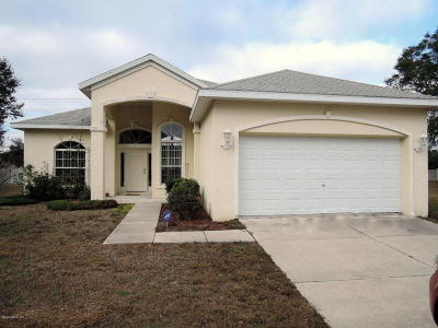 Ocala Single Family Home For Sale: 10791 SW 71st Circle