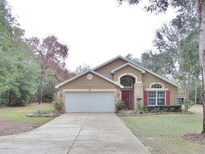 Dunnellon Single Family Home For Sale: 8655 SW 205 Circle
