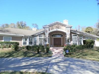 Ocala Single Family Home For Sale: 6341 SW 12th Court