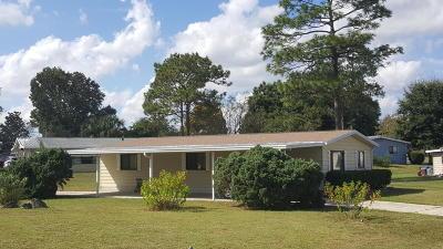 Ocala Single Family Home For Sale: 8901 SW 103rd Lane