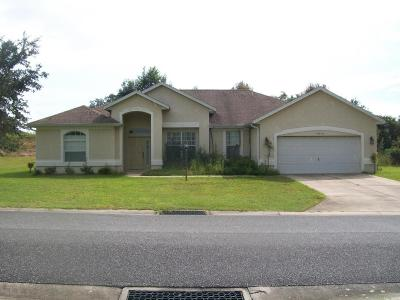 Dunnellon Single Family Home For Sale: 19546 SW 77 Loop