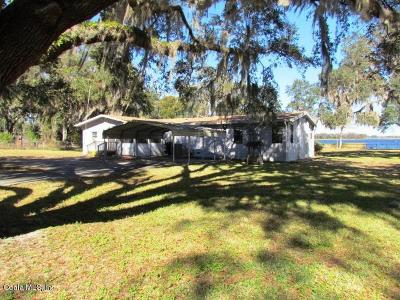 Dunnellon Single Family Home For Sale: 7225 W Riverbend Road