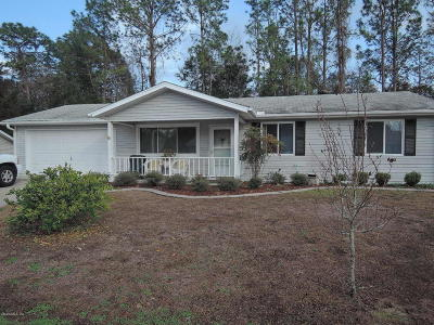 Ocala Single Family Home For Sale: 10955 SW 80th Court