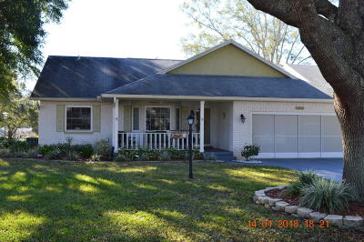Ocala Single Family Home For Sale: 8420 SW 90th Place #A