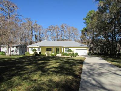 Dunnellon Single Family Home For Sale: 11160 SW 190 Avenue