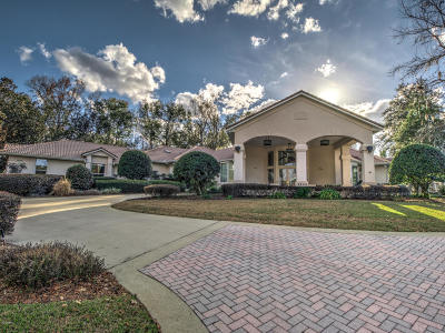Ocala FL Single Family Home For Sale: $849,000