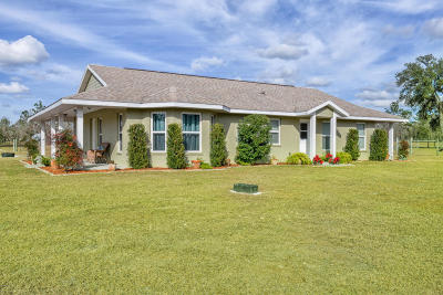 Dunnellon Farm For Sale: 10341 SE 130th Avenue