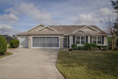 The Villages Single Family Home For Sale: 7767 SE 168th Lone Oak Loop