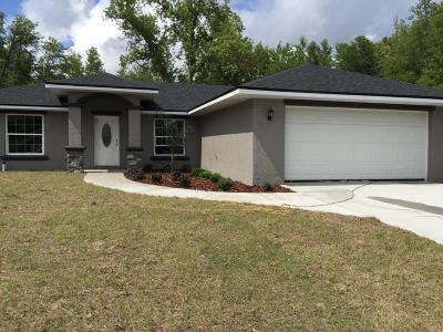 Citrus Springs Single Family Home For Sale: 1405 W Adele Court