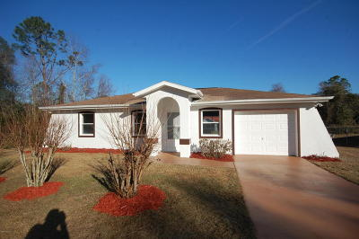 Marion County Single Family Home For Sale: 2801 SW 139th Street