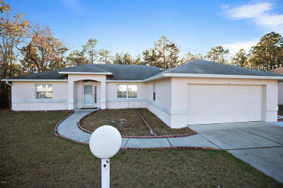 Ocala Single Family Home For Sale: 5 Bahia Trace Loop