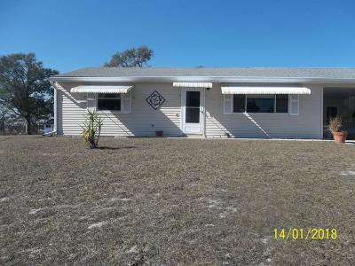 Marion County Single Family Home For Sale: 10470 SW 99th Ct